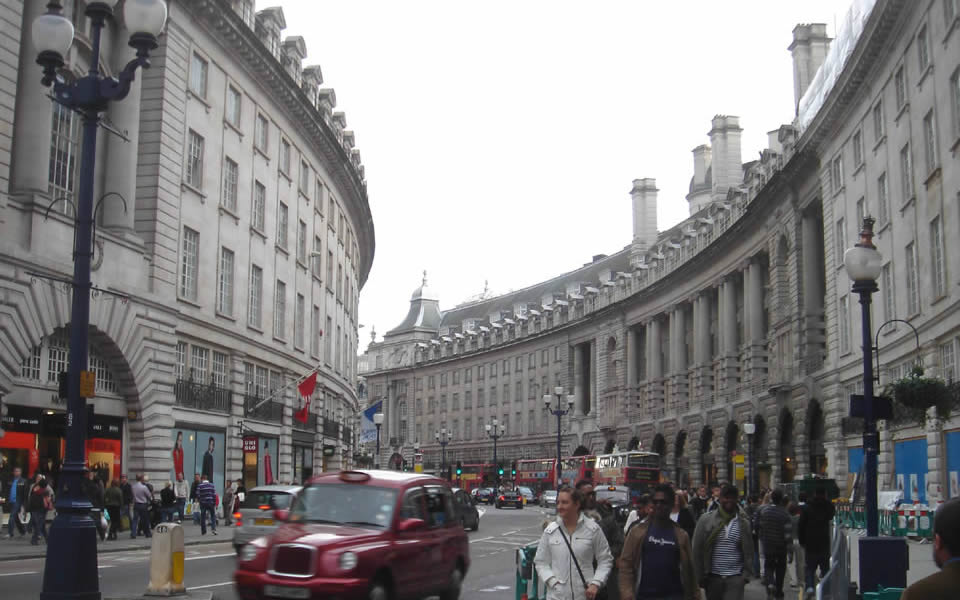 London - great places have great streets; Regent Street and its imperial urbanity