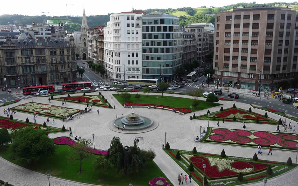 Bilbao - ordered urban design