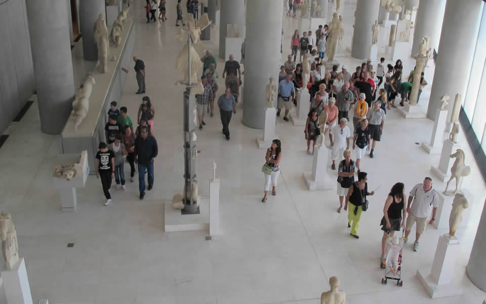 Athens - Reflecting on the historic city in the Acropolis Museum