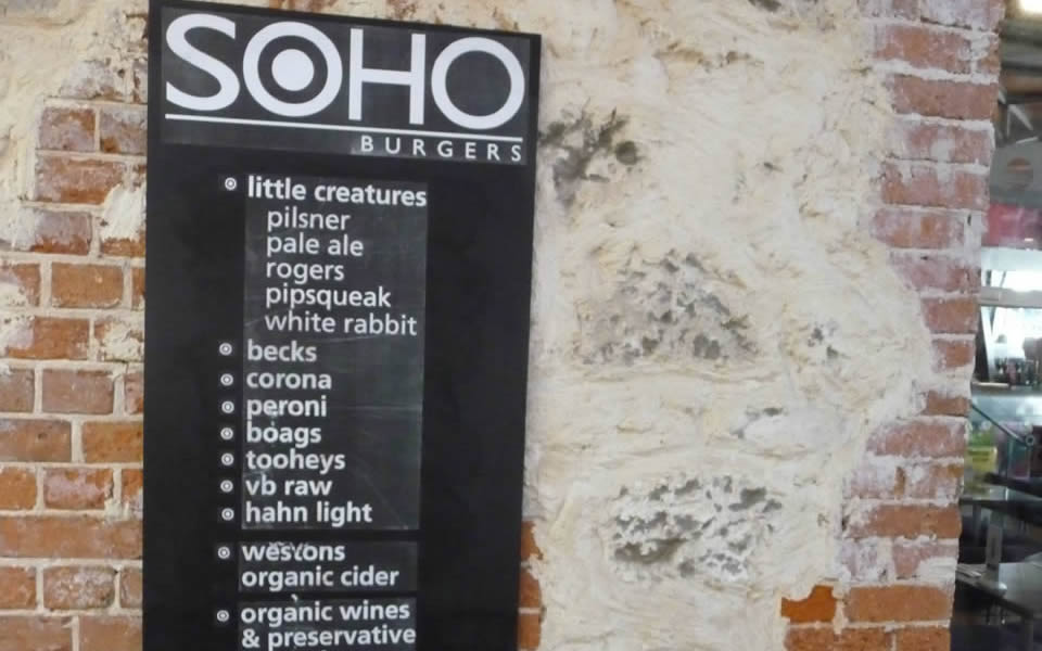 Fremantle - The word 'Soho' has become a moniker for the apparently hip
