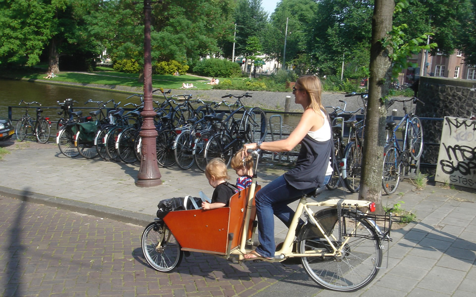 Amsterdam - A different view of mobility