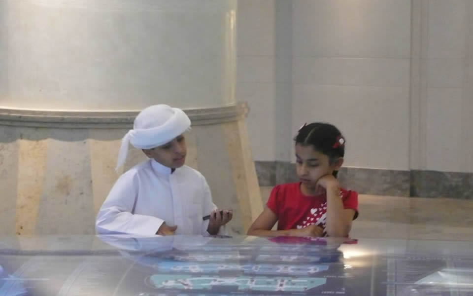 Dubai - Young kids communicating completely naturally