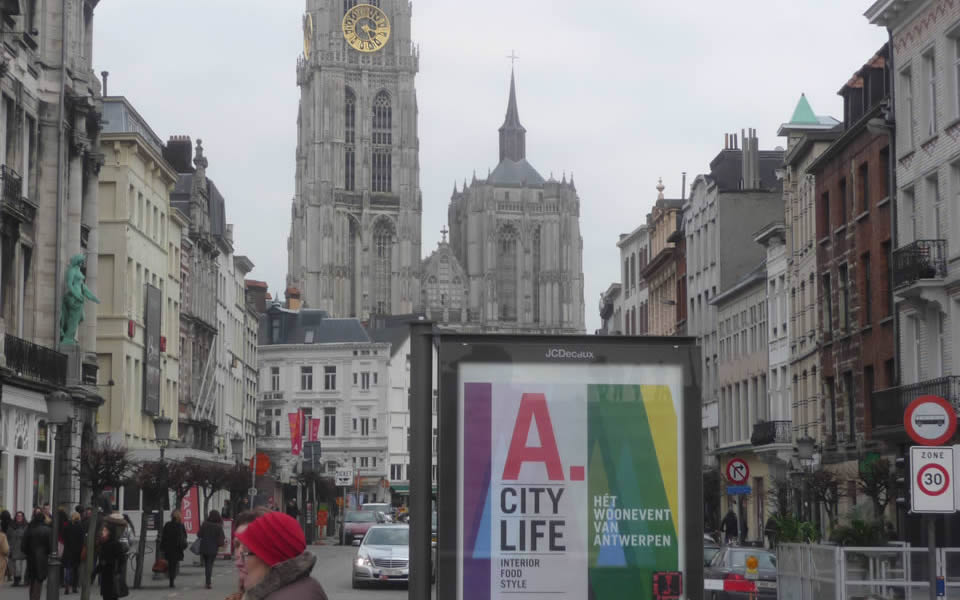 Antwerp - One of Europe's main fashion centres