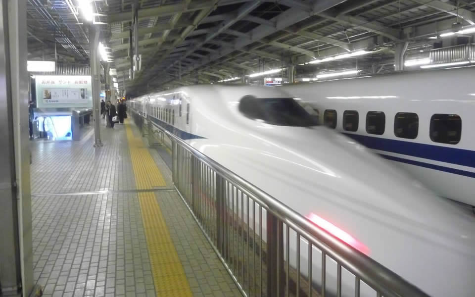 Osaka - Japan's Shinkansen trains are rightly renowned