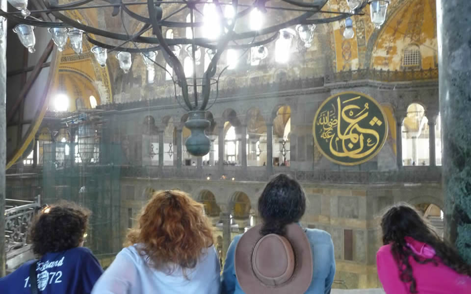 Istanbul - The Hagia Sophia, a remarkable building and history