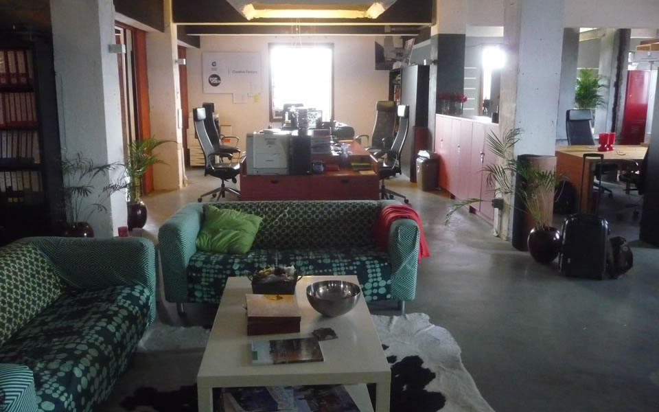 Rotterdam - Co-working area in the Creative Factory