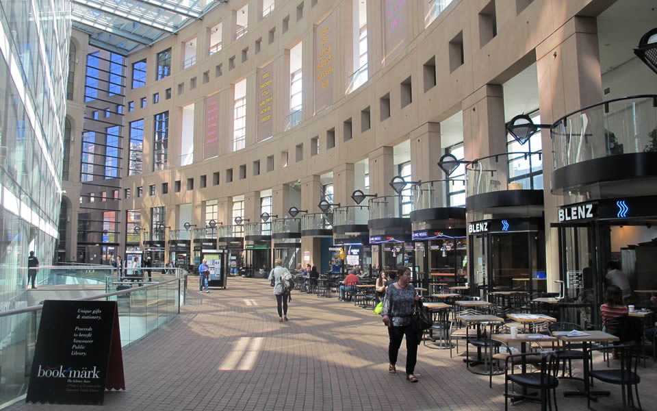 Vancouver library - a learning hub