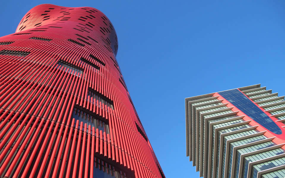 Fira Barcelona - Gran Via iconic architecture seeks to make a mark