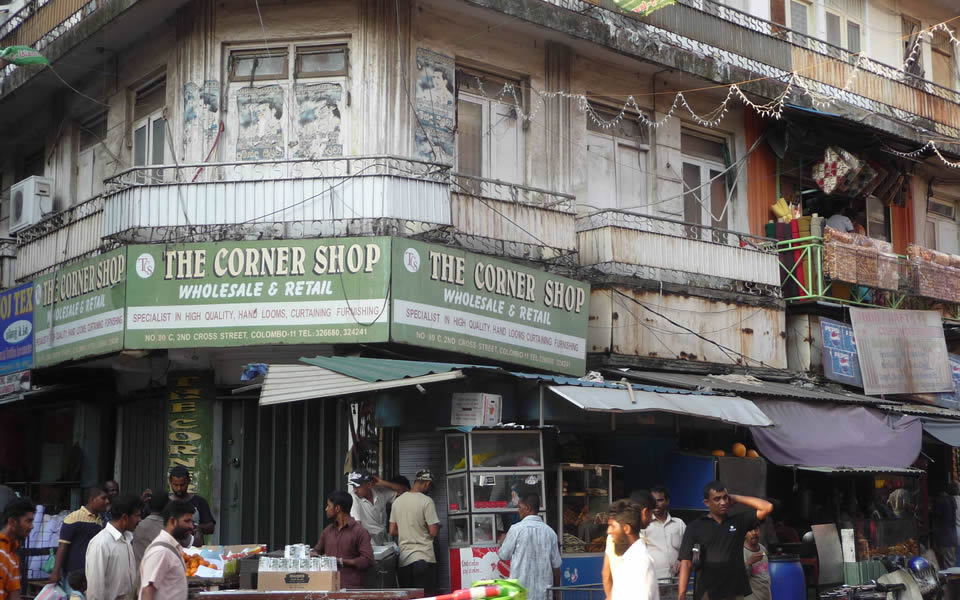 Colombo, Sri Lanka - the cornershop is disappearing world-wide - fast