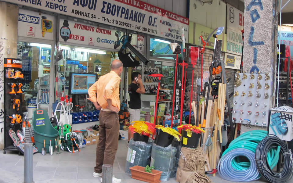 Athens - Basci convenience stores are increasingly disappearing