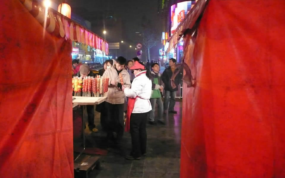 Beijing - An inspiring colour red in the market
