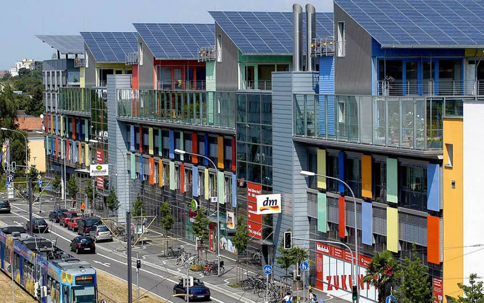 'The Sunship' Freiburg - Europe's green city