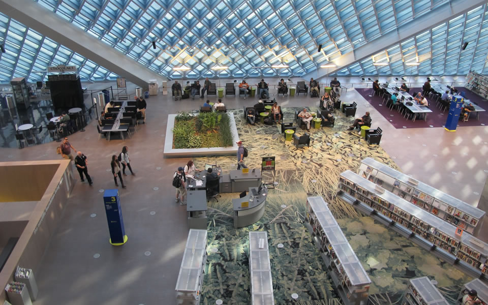 Seattle library - access to everything