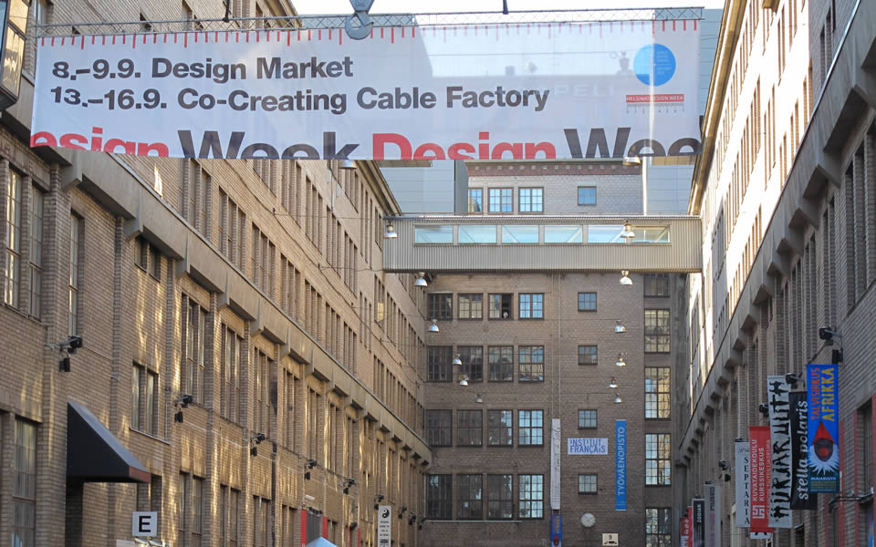 Helsinki - The ex-Nokia Cable Factory