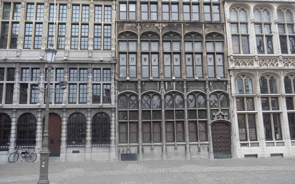 Antwerp - once one of the richest places in Europe