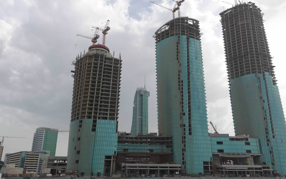 Bahrain - after the riots  the financial centre on hold